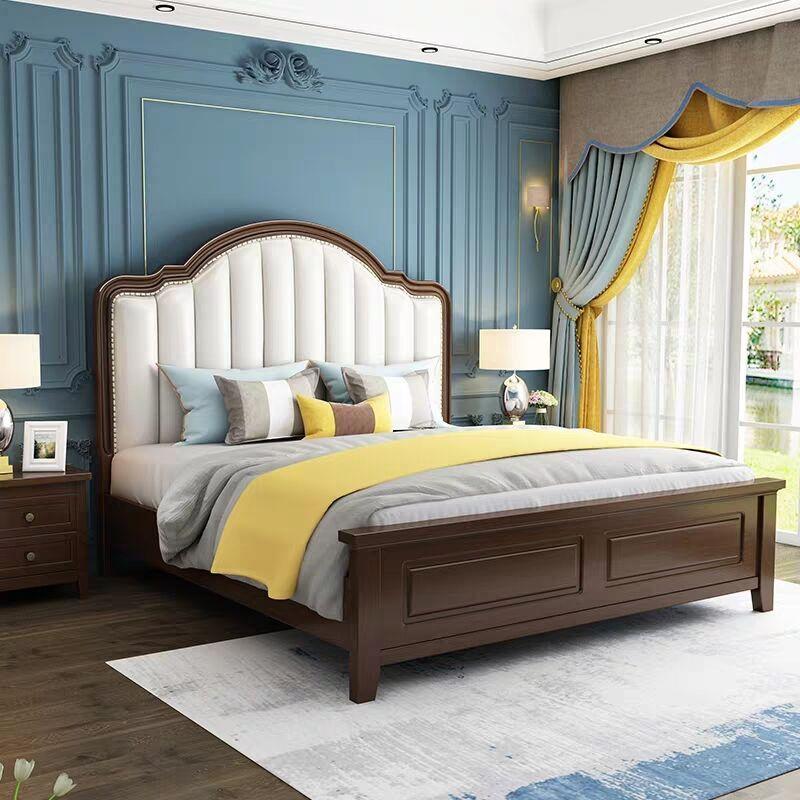 modern simple storage bed 2