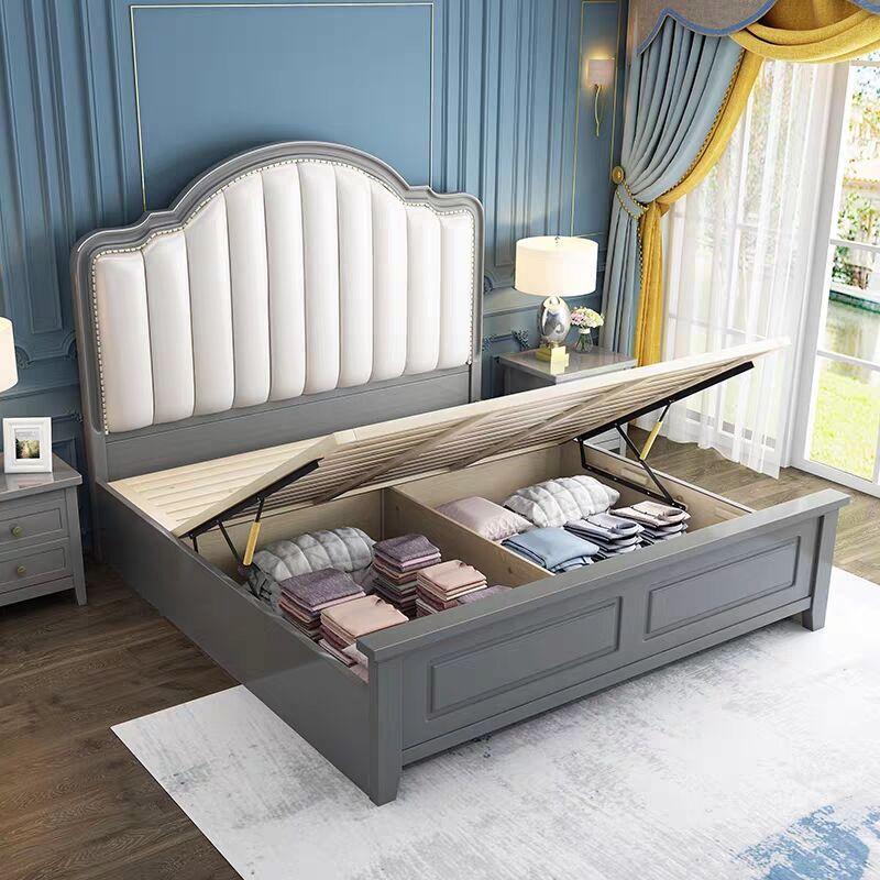 modern simple storage bed 4