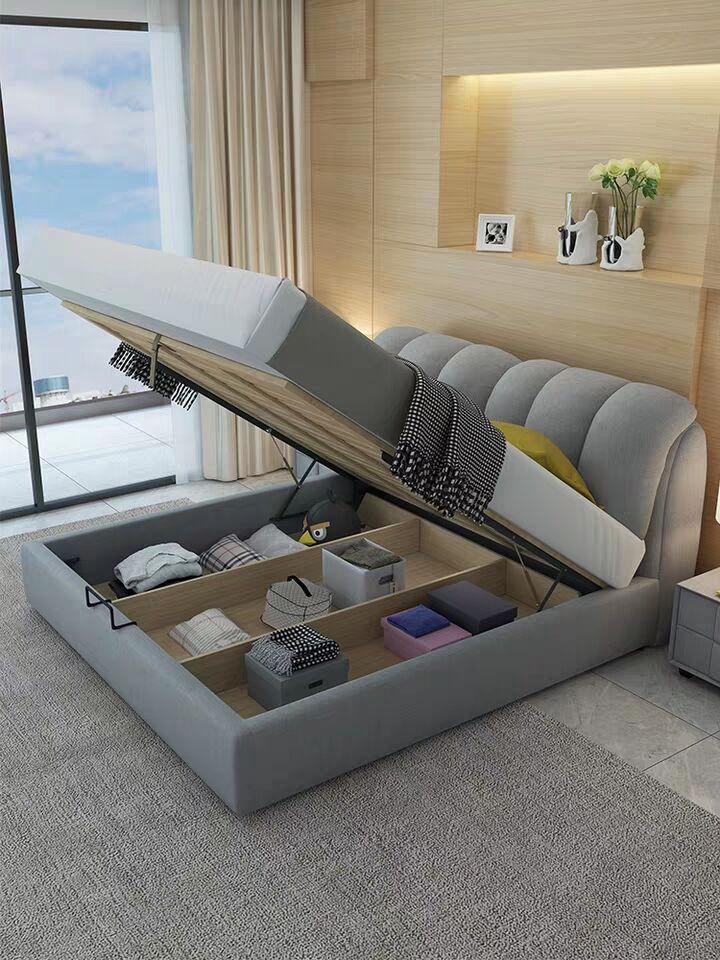 web celebrity soft package bed 4