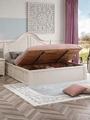 rural solid wood simple bed 2