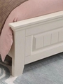rural solid wood simple bed 4