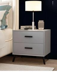 simple modern bedside table