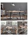 irregular dining table