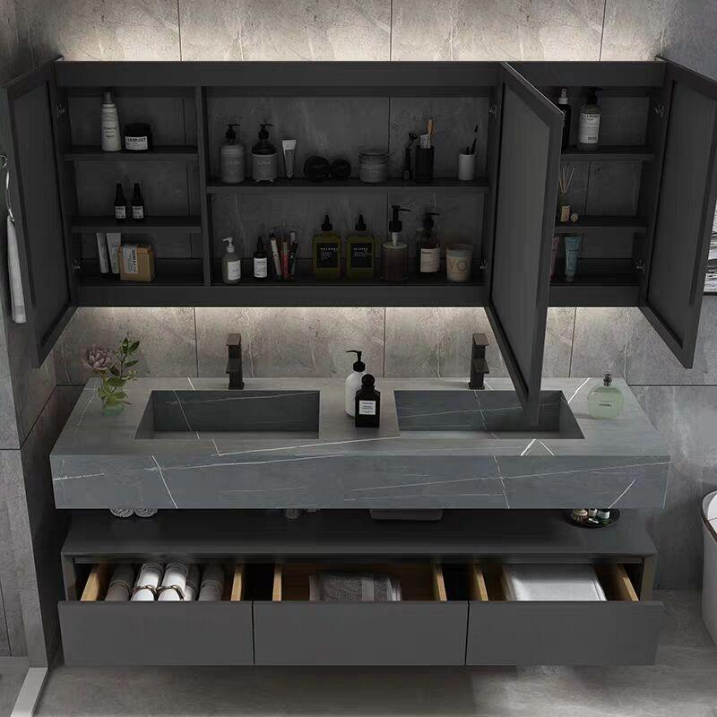 Modern light luxury washstand 4