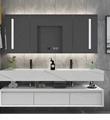 Modern light luxury washstand 5