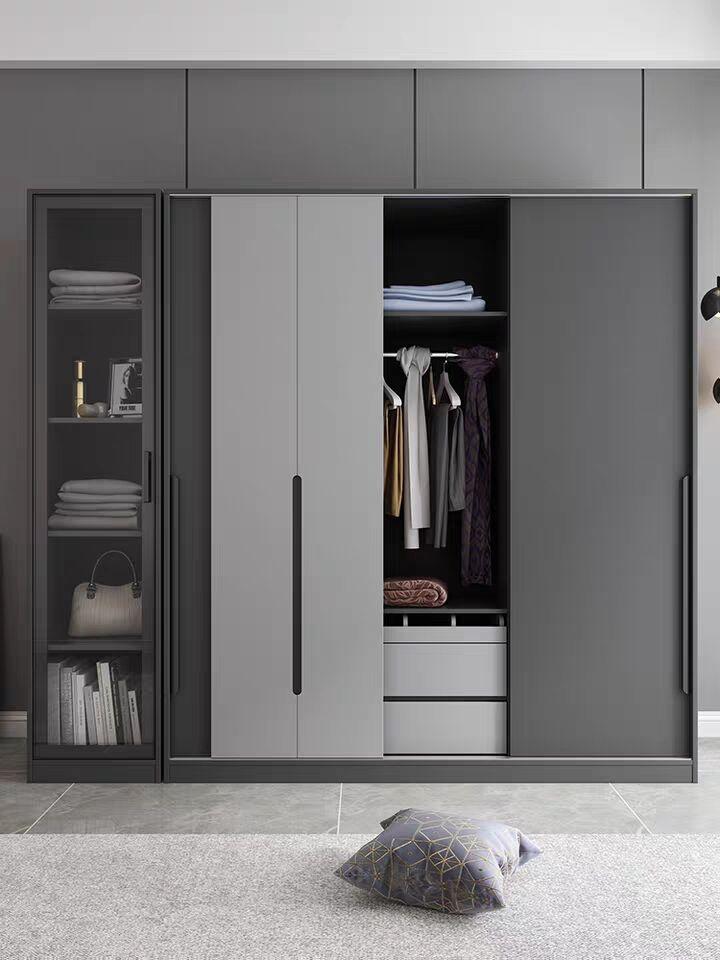 Economical assembled storage wardrobe 1