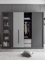 Economical assembled storage wardrobe