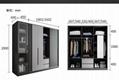 Economical assembled storage wardrobe 6