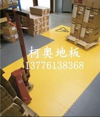 工業pvc拼接地板 耐油污鎖扣地板抗壓耐磨耐衝擊