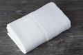 Wholesale cheap 100% cotton dobby white hotel hand towel 1