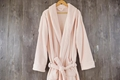 Thick Warm Pure Dyed 100% Polyester Bathrobe