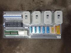 台达PLC控制7台步进
