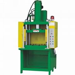 厂家现货供FT-105-四柱液压热压机   10吨油压机 平板热压机