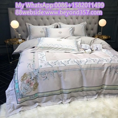 Top AAAA quality bedroom set Brand sheet set best price flat sheet duvet cover (Hot Product - 1*)