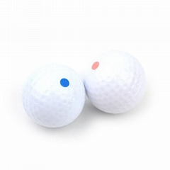 Boomwow Exploding Pink Blue Powder Gender Reveal Golf Balls For Baby Announcemen