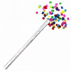 Boomwow Colorful Biodegradable Foil Paper Confetti Slips Flick-Paper Tube