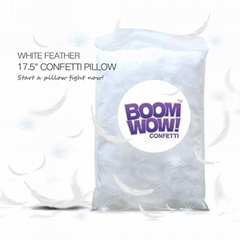 Boomwow ECO High Quality White Feather Pillow For Party And Festival