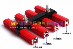 济南德玛DMHX起重机单极铝滑触线