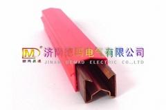 起重机用滑触线单极铜质滑线济南德玛生产安全滑触线
