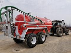 New type advanced towable liquid manure muck fertilizer tanker spreader for gras