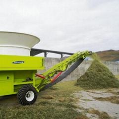 Hammer mill maize straw cornstalk forage grass tub grinder machine driven by PTO