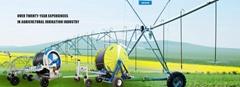modern hose reel irrigation machine with  Mobile big gun irrigation sprinkler