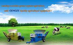 Animal feed alfalfa hay grinding machine rotory hammer mill oat grass tub grinde