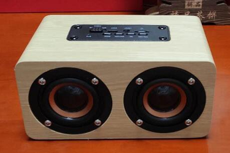 C5A木质无线蓝牙音箱 1