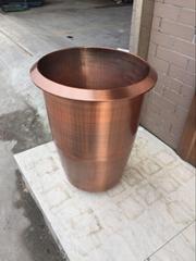 不锈钢花盆定制 不锈钢花盆组合