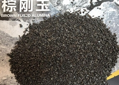 供應銳石 氧化鋁含量95%棕剛玉陶瓷砂輪用粒度砂 F54,F60