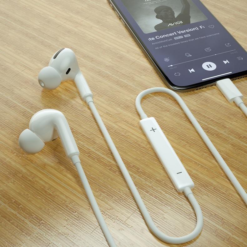 新款苹果三代有线lightning蓝牙耳机适用苹果手机入耳式音乐耳机 3