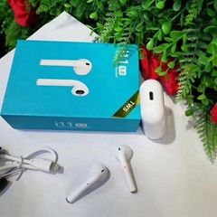 i11蓝牙耳机TWS双耳通话V5.0支持触摸带充电仓支持无线充电功能