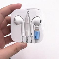苹果蓝牙耳机i8代iphoneX线控有线蓝牙耳机 苹果耳机抗干扰