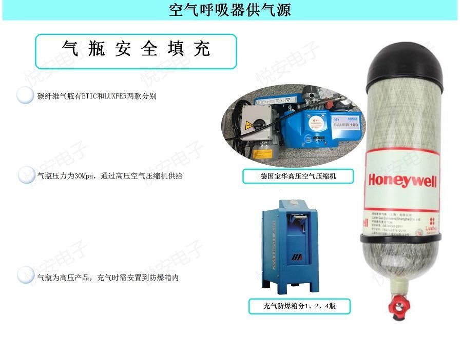 消防空氣呼吸器GA124-2004霍尼韋爾T8000 SCBA805搶險救援呼吸防護 5