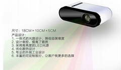 精品熱銷 迷你智能投影儀 家用微型投影儀 安卓投影儀家用LCD
