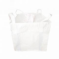 恆立白色加厚噸包袋 白集裝袋廠家直銷優質承重袋 PP全新料噸包