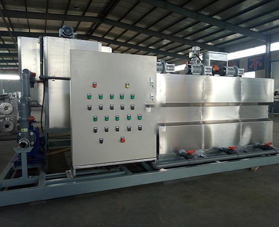 撬装式一体化油田污水处理设备 2