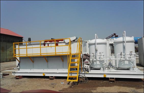 撬装式一体化油田污水处理设备 3
