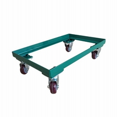 "441 Lbs Steel Dollies Mover L25"" X W15"" 3"" PU Wheel"