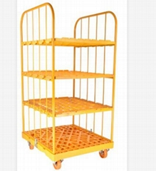 500kg Capacity Roll Cage with 4'' Caster