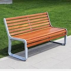 工廠直銷庭院園林創新景觀戶外木製坐凳 移動休閑長凳
