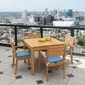 厂家供应景观区柚木桌椅茶几五件套 4