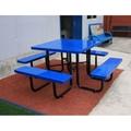 花園野餐戶外金屬桌椅套裝園林休