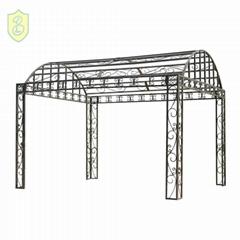 European style Outdoor gazebo wrought cast iron pavilion wedding decorations for