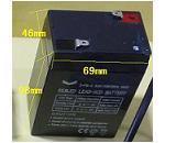 3-FM-4.5A6V4.5AH6V4A閥控式蓄電池 玩具電子秤礦燈探照燈儀器