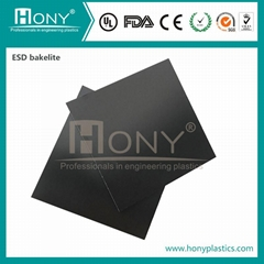 Insulation type Phenolic cloth laminated ESD bakelite sheet antistatic