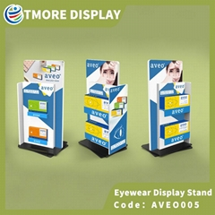 Rotating Contact Lens Display Stand