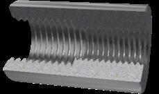 High strength threaded rebar coupler