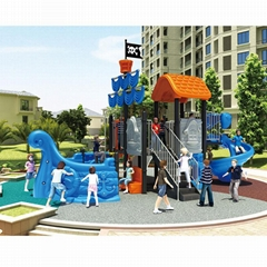 Pirate Ship Playground Equipment - Play Structure Theme Equipment Oem Odm