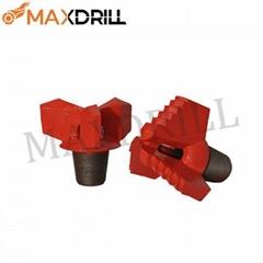 Diamond Head PDC Drill Bit Coal Ore Mining Oil Well Drilling 3 Wing Coring Drag